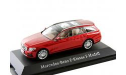 Mercedes-Benz E-class T-model S213 estate Kyosho 1/43 - - - Мерседес Е-класс универсал / комби  1:43 красный мет. (+вар.цв).