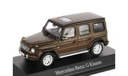Mercedes-Benz G-class 2018г. G463 -2 (W463 -II) Norev 1/43 brown met. - - - Мерседес Джи-класс 4х4 Гелендваген  1:43 коричневый мет.