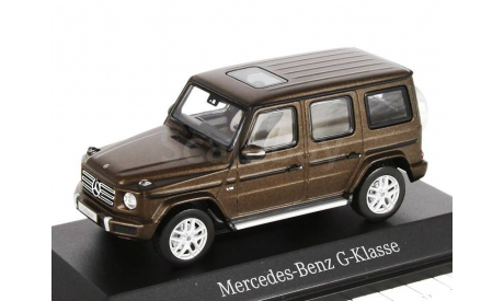 Mercedes-Benz G-class 2018г. G463 -2 (W463 -II) Norev 1/43 brown met. - - - Мерседес Джи-класс 4х4 Гелендваген  1:43 коричневый мет., масштабная модель