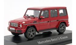 Mercedes-Benz G-class 2016г. G463 (W463) Norev 1/43 red met. - - - Мерседес Джи-класс  Гелендваген  1:43 красный мет.