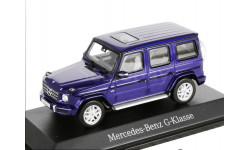 Mercedes-Benz G-class 2018г. G463 -2 (W463 -II) Norev 1/43 brilliantBlue met. - - - Мерседес Джи-класс 4х4 Гелендваген  1:43 сочно-синий мет.