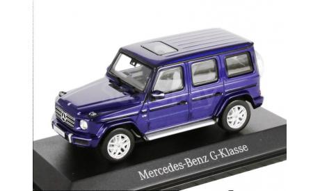 Mercedes-Benz G-class 2018г. G463 -2 (W463 -II) Norev 1/43 brilliantBlue met. - - - Мерседес Джи-класс 4х4 Гелендваген  1:43 сочно-синий мет., масштабная модель