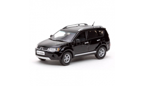 Mitsubishi Outlander XL 1:43 Vitesse Мицубиси Аутлендер 2008 AWD чёрный / BLACK 1:43, масштабная модель, 1/43