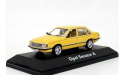 Opel Senator A 1978 Schuco 1/43 Опель Сенатор лимит 1:43 золотисто-жёлтый мет. (+вар.цв).