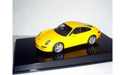 Porsche 911(997) Carrera S  AutoArt  1/43 --- Порше Каррера ЖЁЛТЫЙ /yellow/ ...
