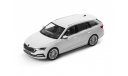Skoda Octavia A8 combi NEW Norev 1/43 Шкода Октавия Комби 2021г Mk4 белый металлик / white 1:43, масштабная модель, Škoda