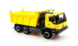 +» Tatra 815 6x6 TerrNo1 самосвал 1999г. KADEN  1/43 Татра Т815 - 6х6 S1 'новая кабина' ЖЁЛТЫЙ / yellow1:43