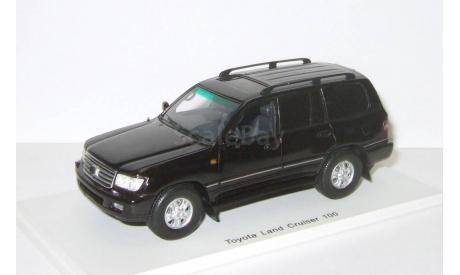 RAR! Toyota Land Cruiser 100 VX Limited 1/43 Spark BLACK! - Тойота Лэнд Круизёр 100 AWD 4х4 ЧЁРНАЯ  1:43, масштабная модель, scale43