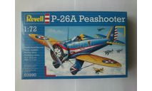 Модель самолета Peashooter P-26, сборные модели авиации, scale72, Revell