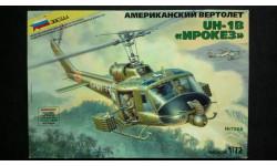 Модель вертолета UH-1B Ирокез