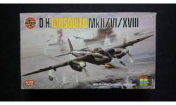 Модель самолета Mosquito Mk-2/6, сборные модели авиации, 1:72, 1/72, Airfix