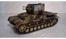 Модель ЗСУ Flakpanzer IV Wirbelwind (собран и окрашен), сборные модели бронетехники, танков, бтт, scale35, Academy