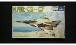 Модель самолета Kfir C-2/C-7, сборные модели авиации, 1:72, 1/72, Italeri