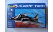 Сборная модель самолета F-117 Nighthawk, сборные модели авиации, scale144, Revell