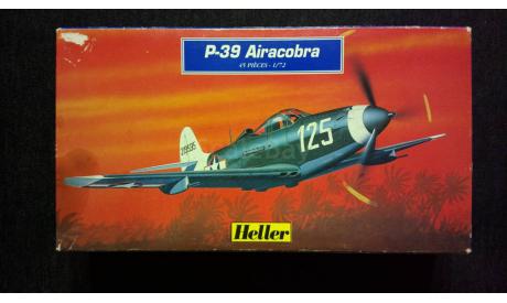 Модель самолета P-39Q Airacobra, сборные модели авиации, Heller, scale72