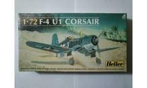 Модель самолета F-4U1 Corsair, сборные модели авиации, 1:72, 1/72, Heller
