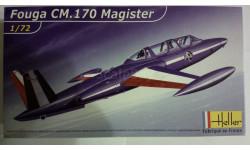 Модель самолета Fouga CM.170 Magister