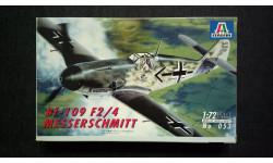 Модель самолета Messerschmitt Bf-109F-2/4, сборные модели авиации, scale72, Italeri