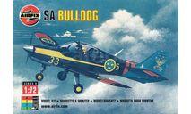 Модель самолета Bulldog T-1, сборные модели авиации, Airfix, 1:72, 1/72