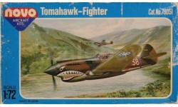 Модель самолета P-40 Tomahawk, сборные модели авиации, 1:72, 1/72, Novo