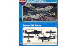 Модель самолета Westland Wallace PV-6, сборные модели авиации, 1:72, 1/72, Novo