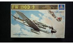 Модель самолета Focke Wulf FW-190D-9, сборные модели авиации, 1:72, 1/72, Italeri