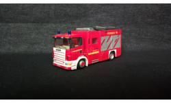 Модель Scania Feuerwehr, масштабная модель, 1:87, 1/87, Cararama