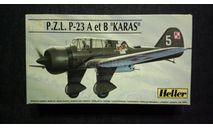 Модель самолета PZL-23 Karas, сборные модели авиации, 1:72, 1/72, Heller