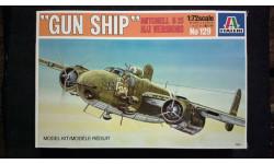 Модель бомбардировщика B-25 Mitchell, сборные модели авиации, 1:72, 1/72, Italeri