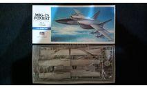Модель самолета Миг-25, сборные модели авиации, Hasegawa, scale72