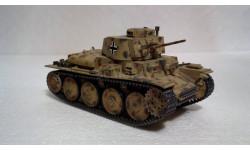 Модель танка Pz. Kpfw-38(t) (Собран и окрашен), сборные модели бронетехники, танков, бтт, 1:35, 1/35, Italeri