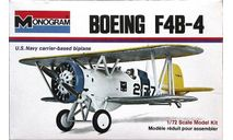 Модель самолета Boeing F-4B, сборные модели авиации, Monogram, scale72