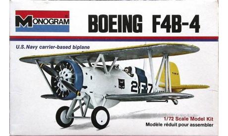 Модель самолета Boeing F4B, сборные модели авиации, Monogram, 1:72, 1/72