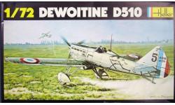 Модель самолета Dewoitine D-510