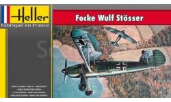 Сборная модель истребителя Focke Wulf FW-56, сборные модели авиации, Heller, 1:72, 1/72