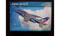 Сборная модель самолета Alpha Jet, сборные модели авиации, Italeri, 1:48, 1/48