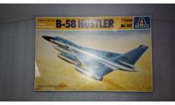 Сборная модель бомбардировщика B-58 Hustler