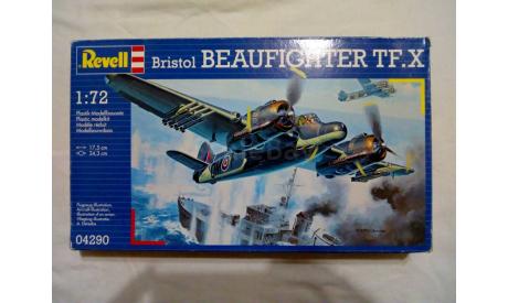 Сборная модель Bristol Beaufigter TF.X, сборные модели авиации, Revell, 1:72, 1/72
