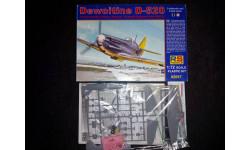 Сборная модель истребителя Dewoitine D-520, сборные модели авиации, RS-Model, 1:72, 1/72