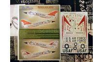 Декаль для модели самолета F-106 Delta Dart, фототравление, декали, краски, материалы, Aeromaster, scale48