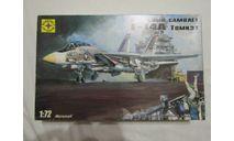 Сборная модель истребителя F-14A Tomcat, сборные модели авиации, Моделист, scale72