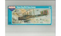 Сборная модель бомбардировщика Vickers Vimy, сборные модели авиации, Novo, scale72