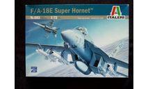 Сборная модель F-18 Super Hornet, сборные модели авиации, Italeri, scale72