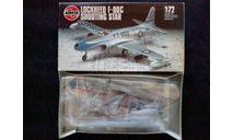Сборная модель истребителя F-80C Shooting Star, сборные модели авиации, Airfix, scale72