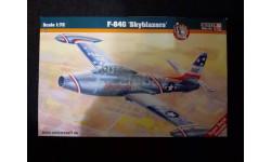Сборная модель F-84 Thunderget