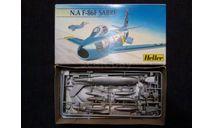 Сборная модель F-86 Sabre, сборные модели авиации, Heller, scale72