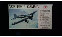 Модель самолета Northrop Gamma, сборные модели авиации, Williams Brothers, 1:72, 1/72