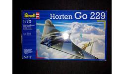 Сборная модель самолета Horten Go-229, сборные модели авиации, Revell, 1:72, 1/72
