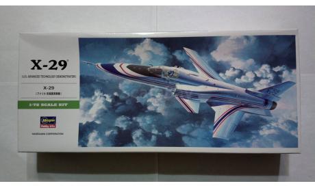 Сборная модель самолета Grumman X-29, сборные модели авиации, Hasegawa, scale72