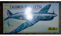 Сборная модель истребителя Caudron CR-714, сборные модели авиации, Heller, scale72